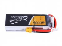 TATTU 5200MAH 4S1P 14.8V 15C LIPO BATTERY PACK WITH XT60