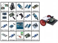 20 in 1 Arduino Uno R3 Based Robotics Learning Course Kit