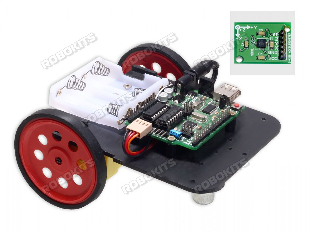 Arduino Uno R3 Compatible Accelerometer Controlled Robot DIY Kit