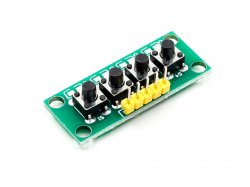 4-Bit Independent Keypad Button Module