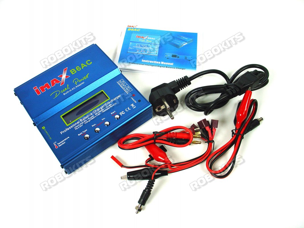 IMAX B6-AC Charger/Discharger 1-6 Cells - Click Image to Close