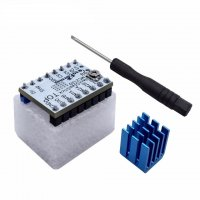 TMC2208v1.2 Stepper Motor Driver Module With Heat Sink And Screw Driver
