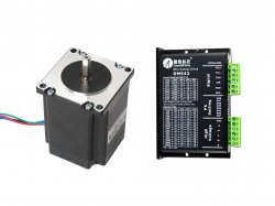 NEMA23 Stepper Motor 19KgCm Torque with LEADSHINE DM542 - C Drive