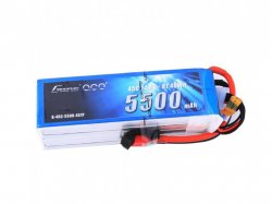 Gens Ace 5500mah 4s-1p 14.8v 45c Lipo Battery