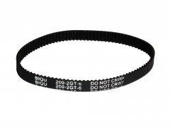 GT2 6mm Closed Timing Belt 200mm