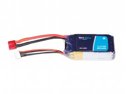 Skycell 11.1V 3S 850mah 30C (Lipo) Lithium Polymer Rechargeable Battery