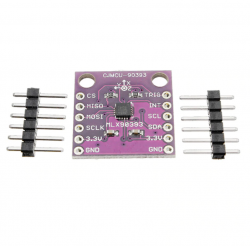 CJMCU-90393 MLX90393 Digital Hall Sensor Displacement Angle rotation 3D Position I2C And SPI Output