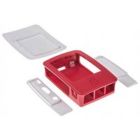 Raspberry Pi 4 Case Red & White