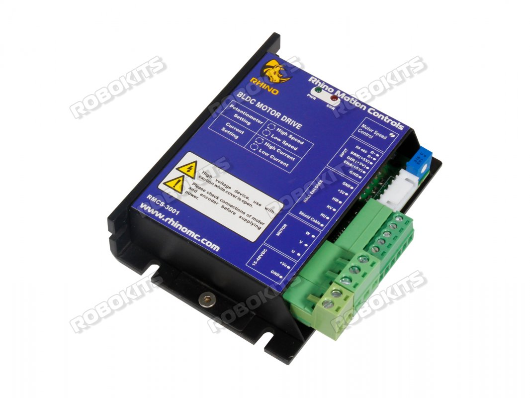 Brushless Dc Motor Driver 250w With Sensor Feedback Rmcs 3001 Controller Bldc Electric 48v