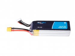 Skycell 22.2V 6S 5200mah 25C (Lipo) Lithium Polymer Rechargeable Battery