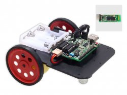 Bluetooth Wireless Robot DIY Kit Compatible with Arduino