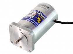 Nema23 High Torque Encoder DC Servo Motor 10RPM with Step/Dir Drive