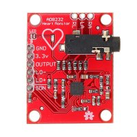 AD8232 module ECG/Bioelectric Signal Acquisition and Development Module Compatible with Arduino