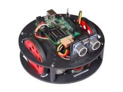 RoundBot compatible with Arduino- Compact Indoor Robot Fully Assembled