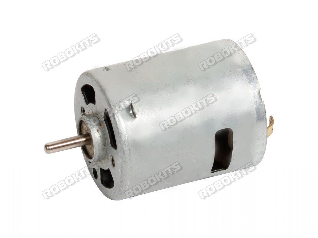 25000rpm Dc Motor 12v Rki 1228 250 Robokits India Easy To Motors Electric Construction Engine Brushes