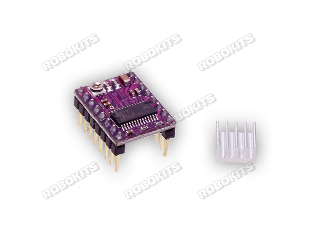 Microstepping Motor Driver DRV8825 with Heatsink - Click Image to Close