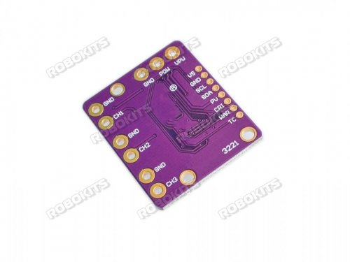 CJMCU-3221 INA3221 Triple-way Low/High Side I2C Output Current/Power Monitor Module
