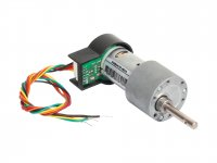 High torque High precision Encoder DC geared Motor 12V 300RPM