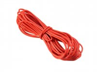 Silicone Wire High Temperature Corrosion Resistant 3KV UL 3239 Grade 14AWG (10 m Red)
