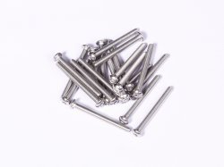M3 x 30 mm SS Bolt Precision Stainless Steel 304 MOQ 25 Pcs