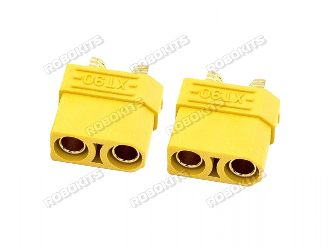 XT90 Female Connector-2Pcs Pair - Click Image to Close