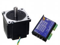 NEMA34 Stepper Motor 45Kgcm Torque with RMCS-1101 Drive