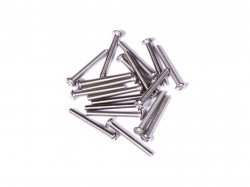 M3 x 25 mm SS Bolt Precision Stainless Steel 304 MOQ 25 Pcs