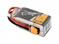 TATTU 1550MAH 4S1P 14.8V 75C LIPO BATTERY PACK WITH XT60 PLUG