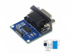 MAX3232 RS232 to TTL Conveter Module