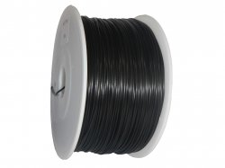 Solid Black 1.75mm PLA Filament 3D Printer 1KG