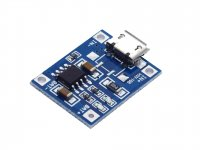 TP4056 1A 5V Li-Ion Charge/Discharge Protection Module (Micro B USB)