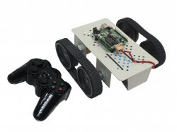 TrackBot - PS2 RF Wireless Remote Controlled Robot - DIY Kit
