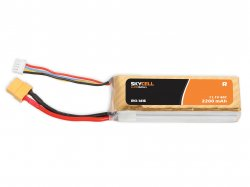 Skycell 11.1V 3S 2200mah 40C (Lipo) Lithium Polymer Rechargeable Battery