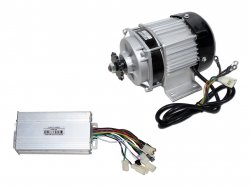 E-BIKE BLDC GEARED MOTOR 1418ZXF 48V 450RPM 500W WITH CONTROLLER (PREMIUM QUALITY)