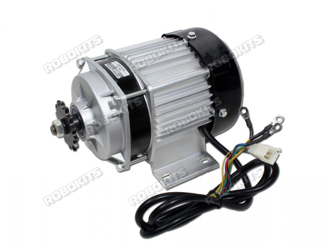 E-Bike Brushless DC Geared motor 48V 450RPM 500W (PREMIUM QUALITY) - Click Image to Close
