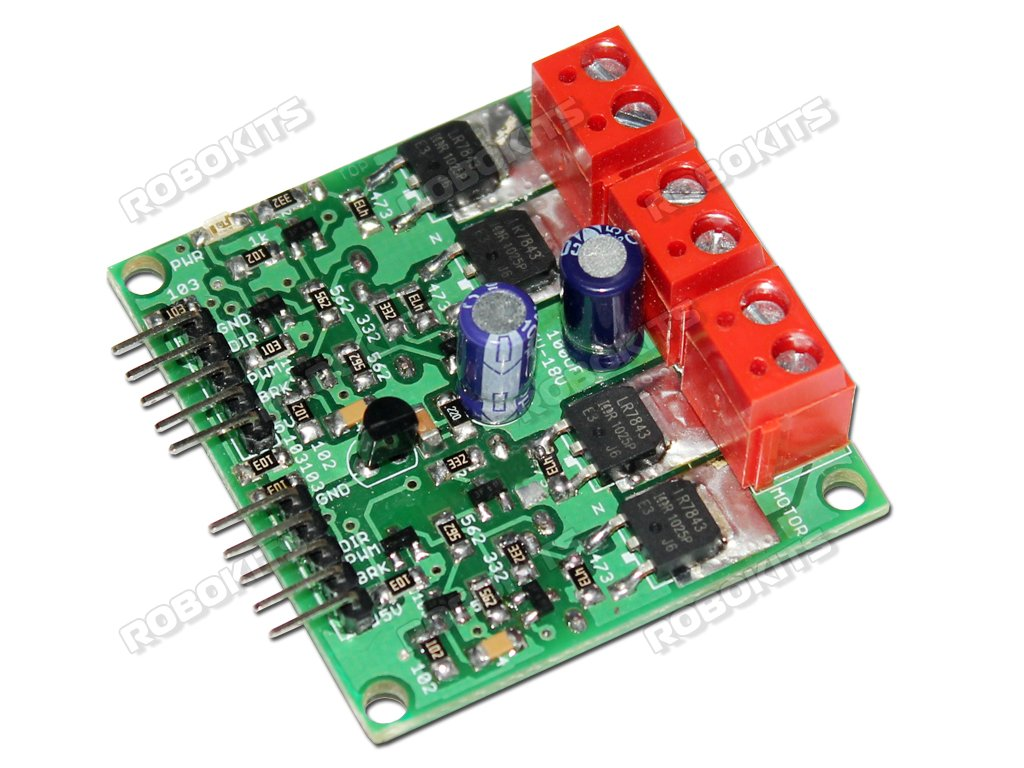 Dual DC Motor Driver 20A