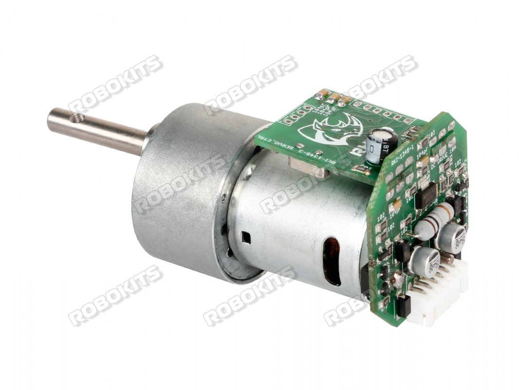 Johnson High Torque DC Geared Motor 10RPM with Driver - Grade A - Click Image to Close