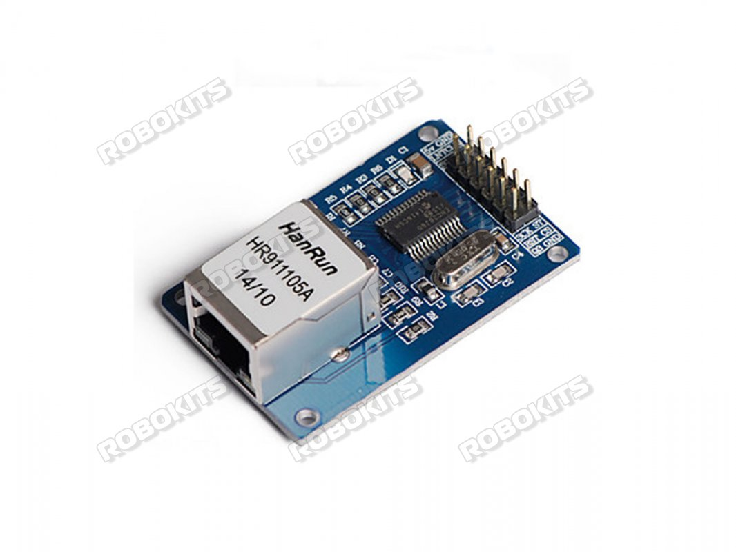 Ethernet to SPI Interface Board - ENC28J60 - Click Image to Close