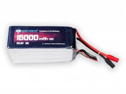 GenX 29.6V 8S 16000mAh 25C / 50C Premium Lipo Battery with AS150 Connector