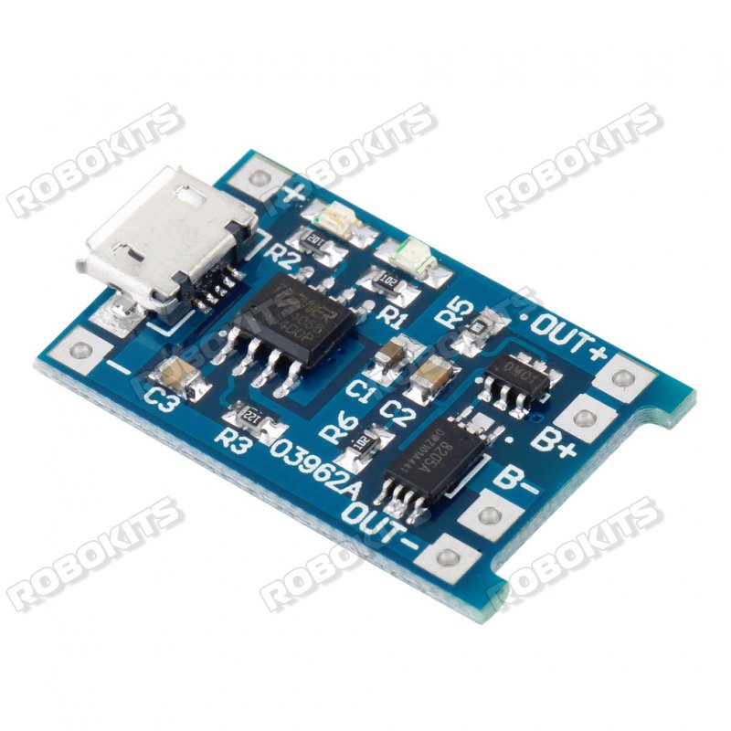 Lithium Ion Battery >> Tp4056 1 2a 5v Li Ion Battery Charge Discharge Protection Module