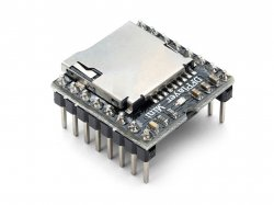 Mp3 Player Module with SD Card Interface compatible with Arduino