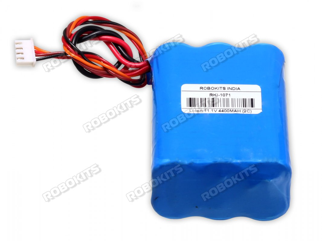 Lithium-Ion Rechargeable Battery Pack 11.1V 4400mAh (2C) without bms - Click Image to Close