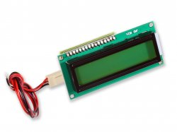 Serial 16x2 Character LCD