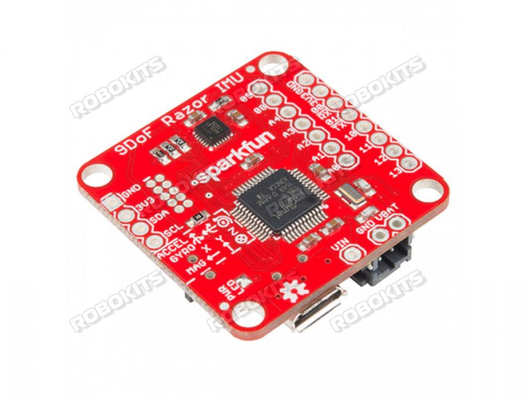 9DoF Razor MPU-9250 IMU M0-Sparkfun SAMD21 Micro SD Card Socket