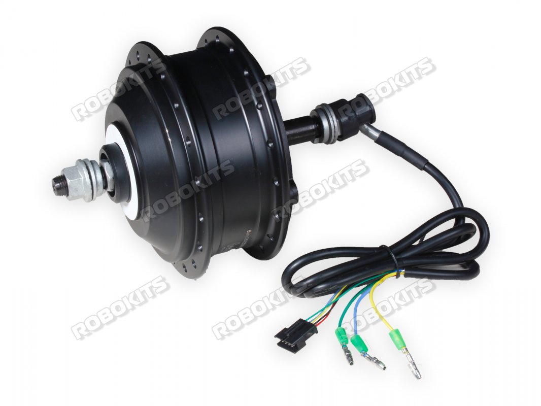 E-Bike 36V 250W 400RPM HUb motor with PEDAL ASSIST COMPATIBLE CONTROLLER FULL kit - Click Image to Close