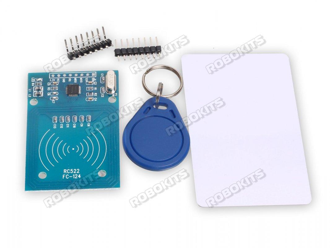 RFID Reader/Writer 13 56MHz RC522 (Arduino Compatible)