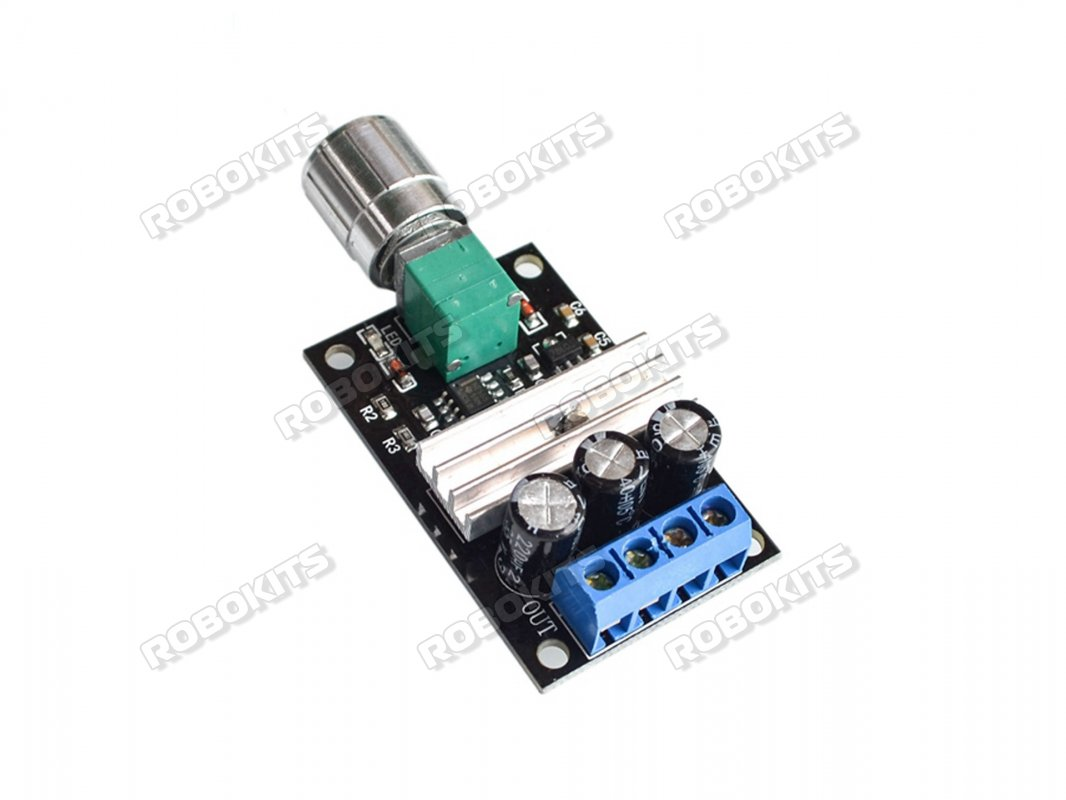 DC 6V 12V 24V 28V 3A PWM Motor Speed Control Switch Controller 1203BK