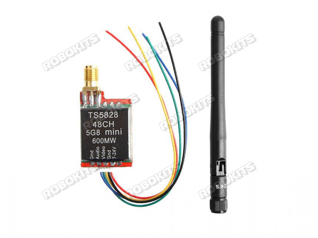 TS5828 600MW 48CH Mini Transmitter with UVC OTG Android Phone Receiver - Click Image to Close