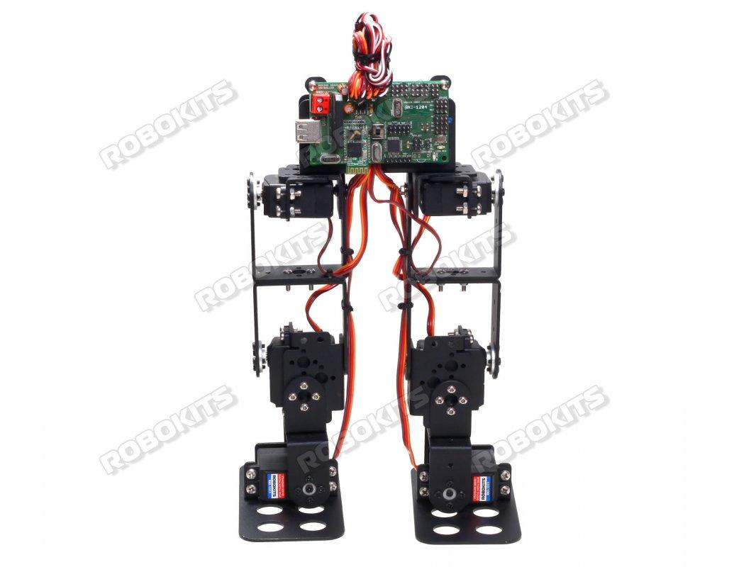 6dof Biped Robot Diy Kit With 18 Servo Controller Rki 2529 Basic Robotics Ir Remote Control