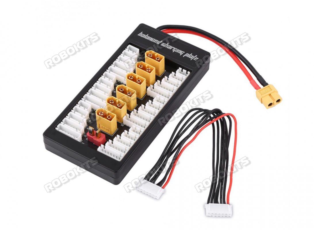 Li-Po Battery Parallel Charger Board For AC Charger - Click Image to Close